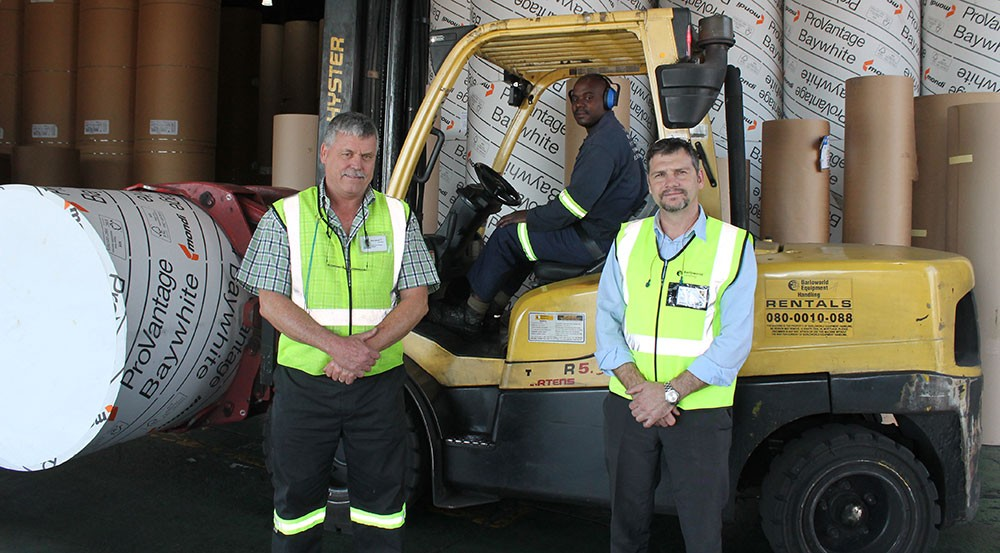 Hyster® makes impact at Mpact in Nelspruit